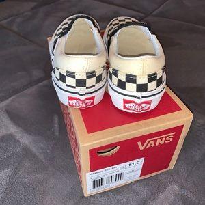 Vans Classic Slip on checkerboard kid 11